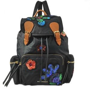 Limited Edition Burberry Floral Rucksack Backpack